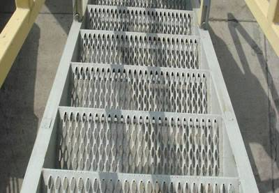 Diamond Safety Grating For American Stair Treads