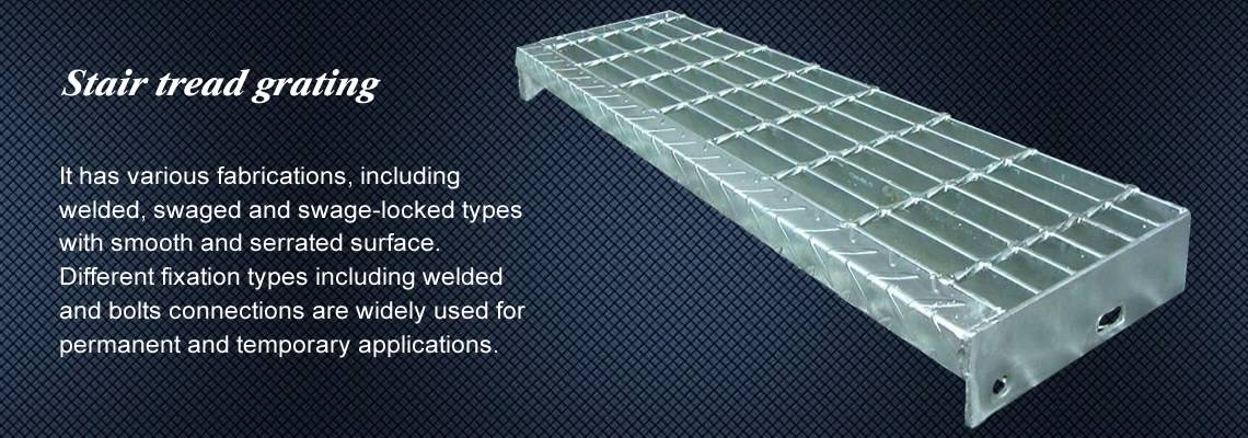 Steel Bar Grating Firm And Multi Type Grating