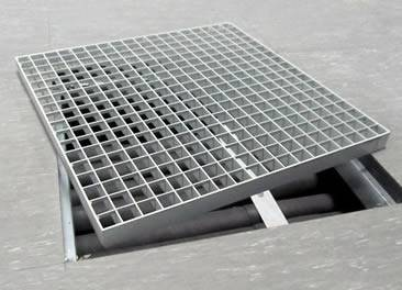 Plain Steel Grating Smooth Surface And Wide Usage