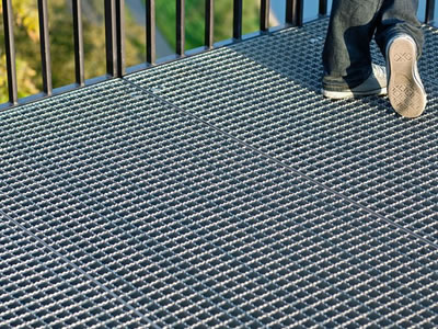 Determinate Slip Resistance Of Industrial Steel Grating