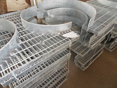 Metal Open Bar Grating For Industrial Flooring Amp Stair Treads