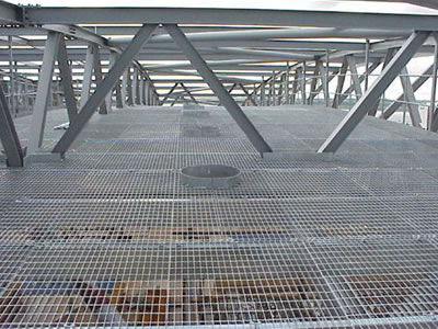 Steel Grating Stair Treads And Flooring For Industrial